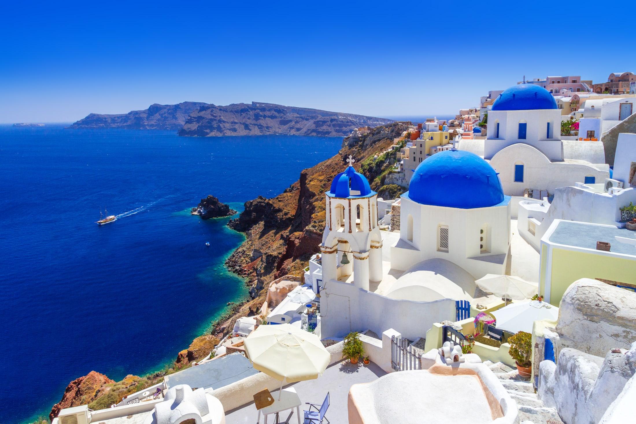 Santorini Ferien • Günstig Ferien buchen bei HolidayCheck