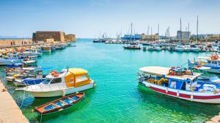 Hafen Heraklion, Kreta
