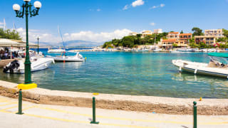 Hafen Kassiopi, Korfu