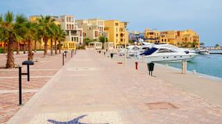 Hafen, El Gouna, Ägypten