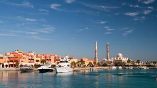 Hafen, Hurghada, Ägypten