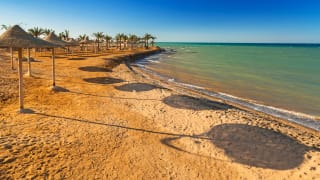 Strand, Hurghada, Rotes Meer, Ägypten