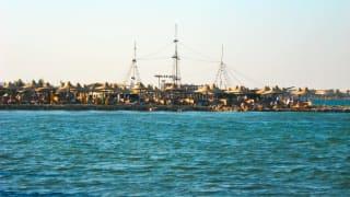 Strand, Makadi Bay, Ägypten