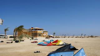 Kitesurfen, Soma Bay, Ägypten