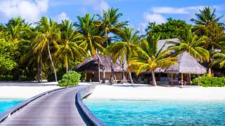 Beach Resort, Malediven