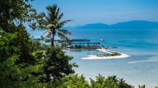Strand Thong Sala, Koh Phangan, Thailand