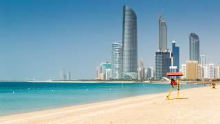 Skyline Abu Dhabi, VAE
