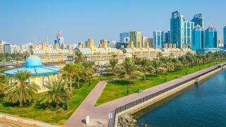 Stadtzentrum, Sharjah, VAE