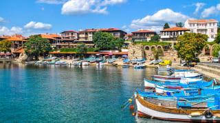 Hafen Nessebar, Bulgarien