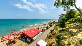 City Beach in Obzor, Bulgarien