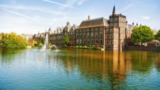 Niederländische Parlament, Den Haag, Nordsee