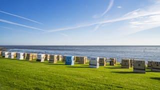 Strand, Büsum, Nordsee, Deutschland