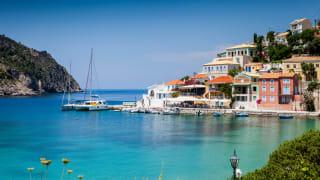 Bucht von Sami, Kefalonia, Griechenland