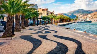 Hafen Argostoli, Kefalonia, Griechenland