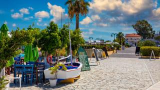 Hafen Lixouri, Kefalonia, Griechenland