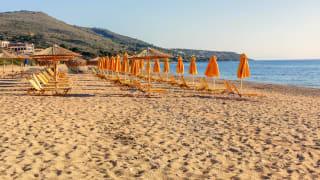 Strand Skala, Kefalonia, Griechenland