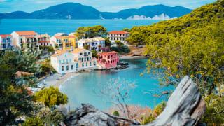 Bucht von Assos, Kefalonia, Griechenland