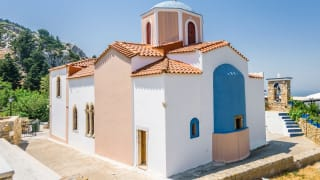Basilika auf Zia, Kos, Griechenland