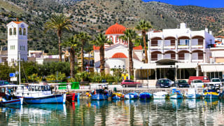 Hafen Elounda, Kreta
