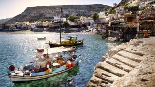 Hafen Matala, Kreta