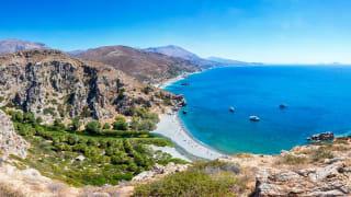 Preveli Beach, Kreta, Griechenland