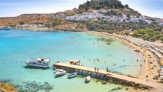 St. Paul's Bucht, Rhodos, Griechenland