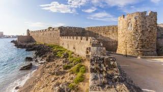 Alte Stadtmauer, Rhodos, Griechenland