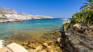 Bucht von Kallithea, Rhodos, Griechenland