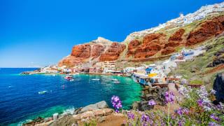 Hafen Ammoudi, Santorini