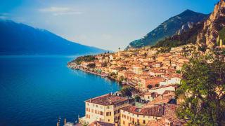 Limone, Gardasee, Italien