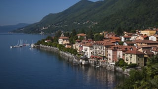 Cannero Riviera, Lago Maggiore, Italien