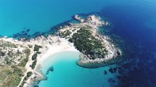 Bucht, Villasimius, Sardinien