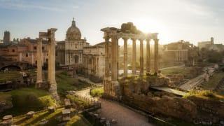 Forum Romanum, Rom, Italien