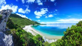 Küste am Adriatischen Meer, Kroatien