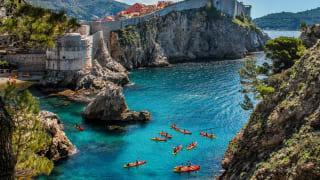 Dubrovnik, Dalmatien, Kroatien