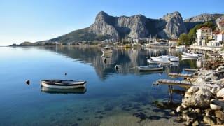 Omis, Dalmatien, Kroatien