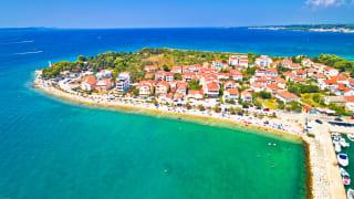 Puntamika Halbinsel, Zadar, Dalmatien