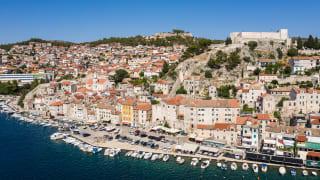 Sibenik, Dalmatien, Kroatien