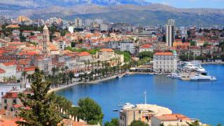 Split, Dalmatien, Kroatien