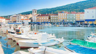 Hafen Cres, Insel Cres, Kroatien