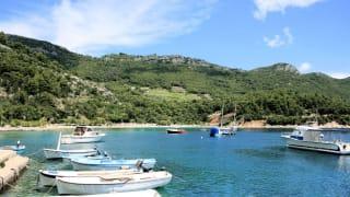 Hafen Martinšćica, Insel Cres, Kroatien