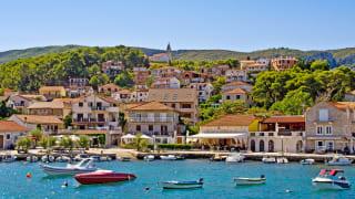 Hafen Jelsa, Insel Hvar, Kroatien