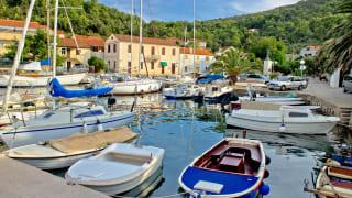 Hafen, Mali Iž, Insel Iz, Kroatien