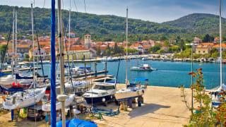 Hafen, Veli Iž, Insel Iz, Kroatien