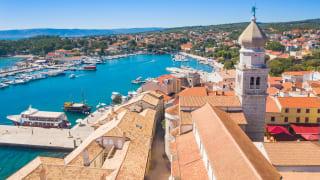 Altstadt von Krk, Insel Krk, Kroatien