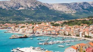 Baska, Insel Krk, Kroatien