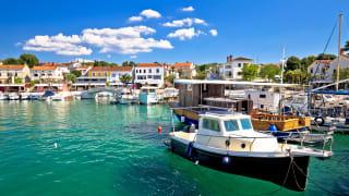 Njivice, Insel Krk, Kroatien