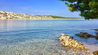 Strand, Barbat, Insel Rab