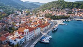 Vis Stadt, Insel Vis, Kroatien