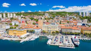 Hafen, Rijeka, Kvarner Bucht